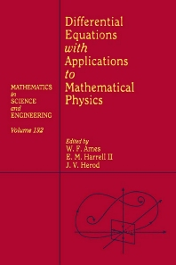Cover image for Differential Equations with Applications to Mathematical Physics