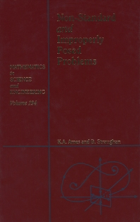 Non-Standard and Improperly Posed Problems - 1st Edition - ISBN: 9780120567454, 9780080537740