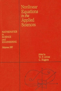 Cover image for Nonlinear Equations in the Applied Sciences