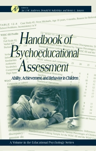 Handbook of Psychoeducational Assessment, 1st Edition,Donald Saklofske,Gary Phye,Jac Andrews,Henry Janzen,ISBN9780120585700