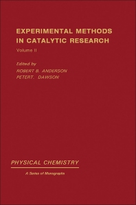 Cover image for Experimental Methods in Catalytic Research