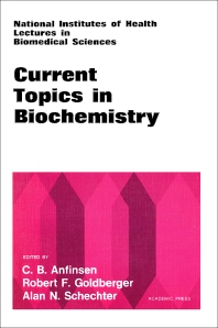 Current Topics in Biochemistry  - 1st Edition - ISBN: 9780120587506, 9780323140775
