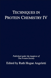 Techniques in Protein Chemistry IV - 1st Edition - ISBN: 9780120587575, 9781483268224