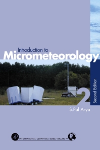 Introduction to Micrometeorology, 2nd Edition,Paul Arya,ISBN9780120593545
