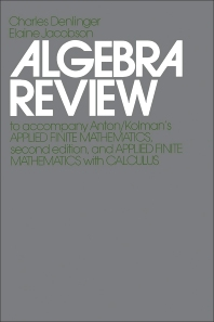Algebra Review - 2nd Edition - ISBN: 9780120595686, 9781483262338