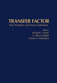 Transfer Factor - 1st Edition - ISBN: 9780120646500, 9781483216157