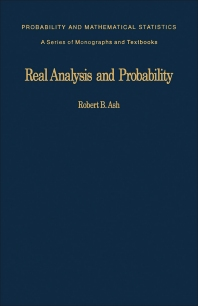 Real Analysis and Probability - 1st Edition - ISBN: 9780120652013, 9781483191423