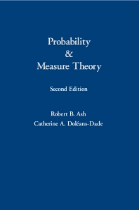 Probability & Measure Theory, 2nd Edition,Robert Ash,Catherine Doleans-Dade,ISBN9780120652020