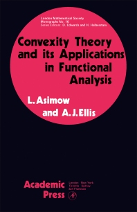Cover image for Convexity Theory and its Applications in Functional Analysis