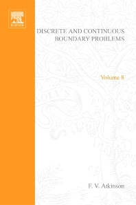Discrete and Continuous Boundary Problems - 1st Edition - ISBN: 9780120658503, 9780080955162
