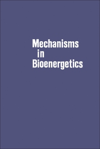 Cover image for Mechanisms in Bioenergetics