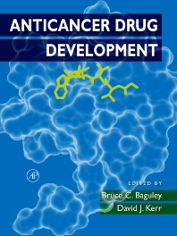 Anticancer Drug Development, 1st Edition,Bruce Baguley,David Kerr,ISBN9780120726516