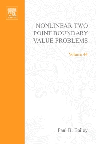Cover image for Nonlinear Two Point Boundary Value Problems