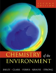 Cover image for Chemistry of the Environment