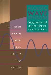 Acoustic Wave Sensors - 1st Edition - ISBN: 9780120774609, 9780080523330