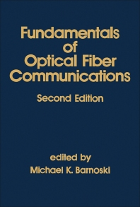 Fundamentals of Optical Fiber Communications - 2nd Edition - ISBN: 9780120791514, 9780323161862