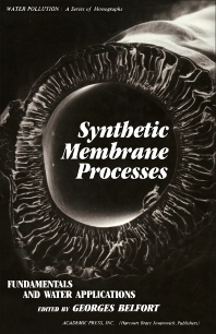 Synthetic Membrane Process - 1st Edition - ISBN: 9780120854806, 9780323145817