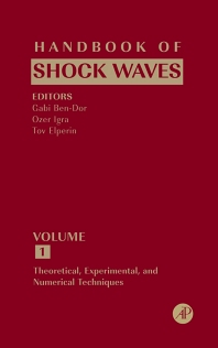 Cover image for Handbook of Shock Waves, Three Volume Set