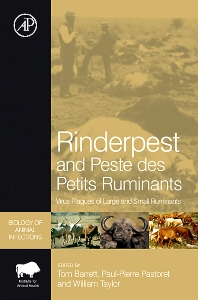 Cover image for Rinderpest and Peste des Petits Ruminants