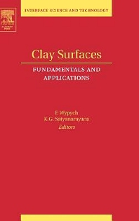 Clay Surfaces, 1st Edition,Fernando Wypych,Kestur Gundappa Satyanarayana,ISBN9780120884391