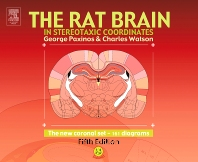 Cover image for The Rat Brain in Stereotaxic Coordinates - The New Coronal Set