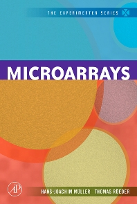 Cover image for Microarrays
