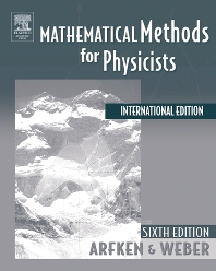 Mathematical Methods For Physicists International Student Edition - 6th Edition - ISBN: 9780120885848, 9780080470696