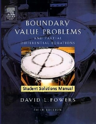 Cover image for Student Solutions Manual to Boundary Value Problems