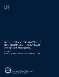 Cover image for Nonhuman Primates in Biomedical Research