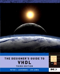 Cover image for The Designer's Guide to VHDL