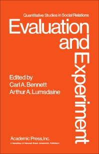 Evaluation and Experiment - 1st Edition - ISBN: 9780120888504, 9781483260846