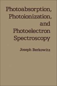 Cover image for Photoabsorption, Photoionization, and Photoelectron Spectroscopy