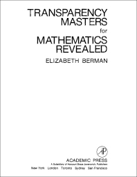 Transparency Masters for Mathematics Revealed - 1st Edition - ISBN: 9780120924561, 9781483213941