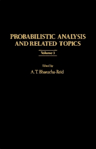 Cover image for Probabilistic Analysis and Related Topics