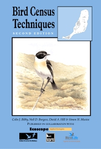 Cover image for Bird Census Techniques