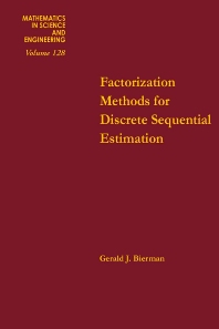 Cover image for Factorization Methods for Discrete Sequential Estimation