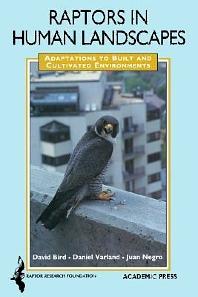 Cover image for Raptors in Human Landscapes