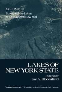 Cover image for Ecology of the Lakes of East-Central New York