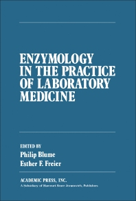 Cover image for Enzymology in the Practice of Laboratory Medicine