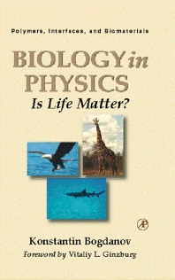 Biology in Physics - 1st Edition - ISBN: 9780121098407, 9780080500133