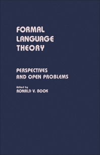 Formal Language Theory - 1st Edition - ISBN: 9780121153502, 9781483267500