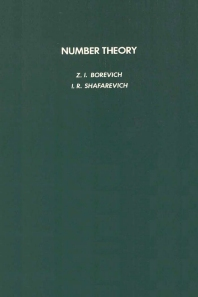 Number Theory - 1st Edition - ISBN: 9780121178512, 9780080873329