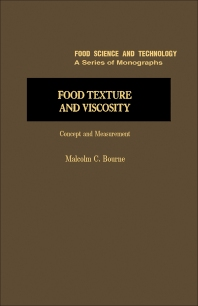 Cover image for Food Texture and Viscosity