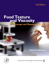 Food Texture and Viscosity, 2nd Edition,Malcolm Bourne,ISBN9780121190620