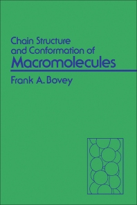 Cover image for Chain Structure and Conformation of Macromolecules