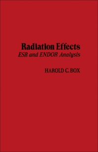 Radiation Effects - 1st Edition - ISBN: 9780121211509, 9781483216515