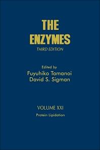 Protein Lipidation, 3rd Edition,Fuyuhiko Tamanoi,David Sigman,ISBN9780121227227