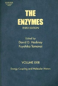Energy Coupling and Molecular Motors, 3rd Edition,Fuyuhiko Tamanoi,David Hackney,ISBN9780121227241