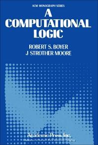 A Computational Logic - 1st Edition - ISBN: 9780121229504, 9781483277882