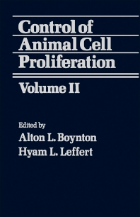 Cover image for Control of Animal Cell Proliferation